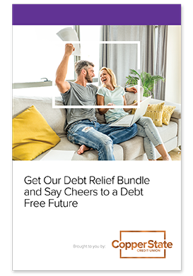 Get Our Debt Relief Bundle and Say Cheers to a Debt Free Future