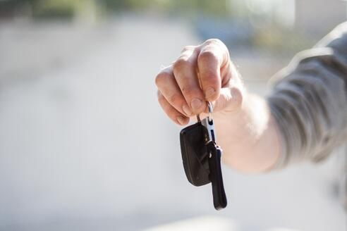 keys to new car you got the best deal on
