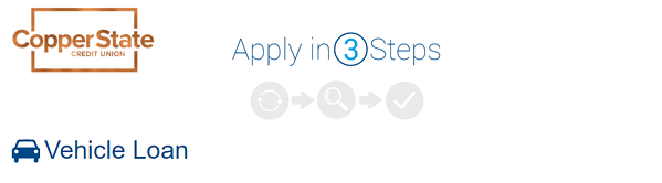 apply for a car loan in three steps