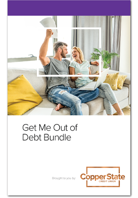Get Me Out Of Debt Bundle - Copper Credit Union Guide Book
