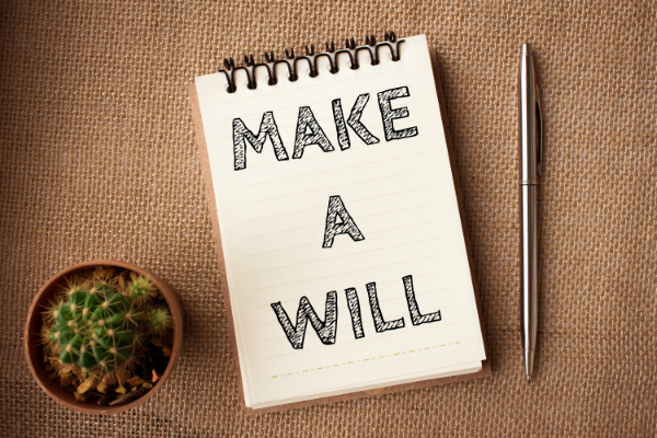 make a will note page